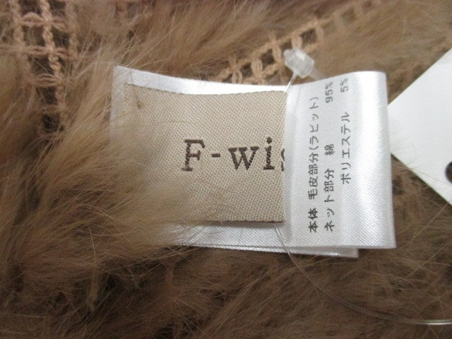 F-wisteria(ウィステリア)のポンチョ