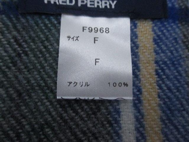 FRED PERRY(フレッドペリー)のマフラー