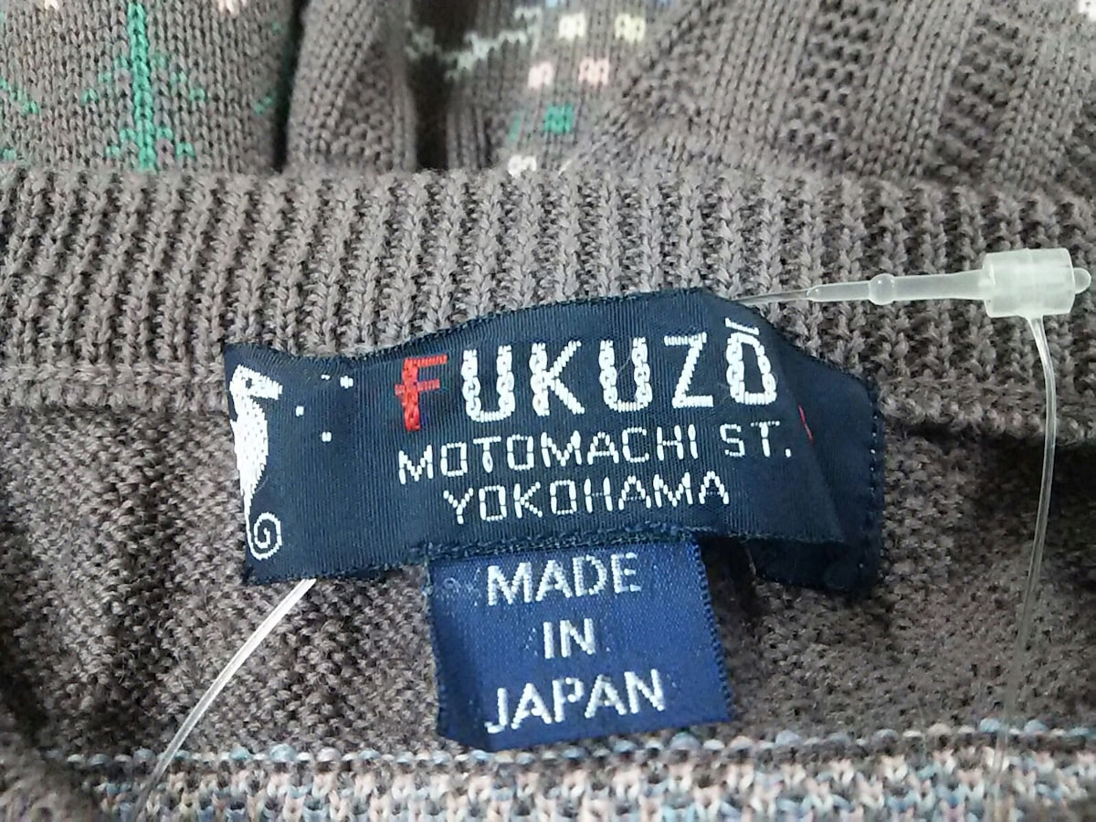 FUKUZO(フクゾー)のカーディガン