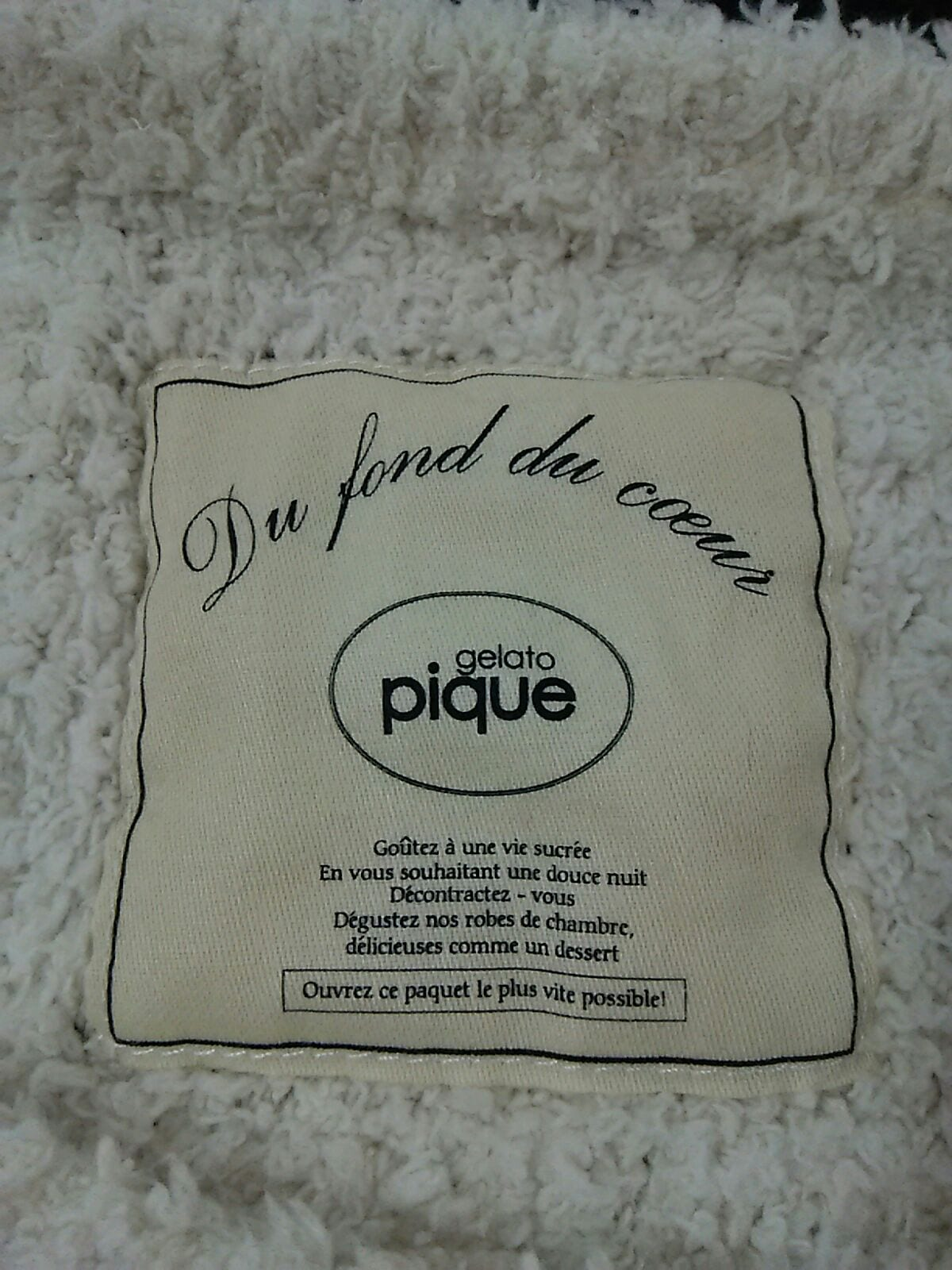 gelato pique(ジェラートピケ)のワンピース