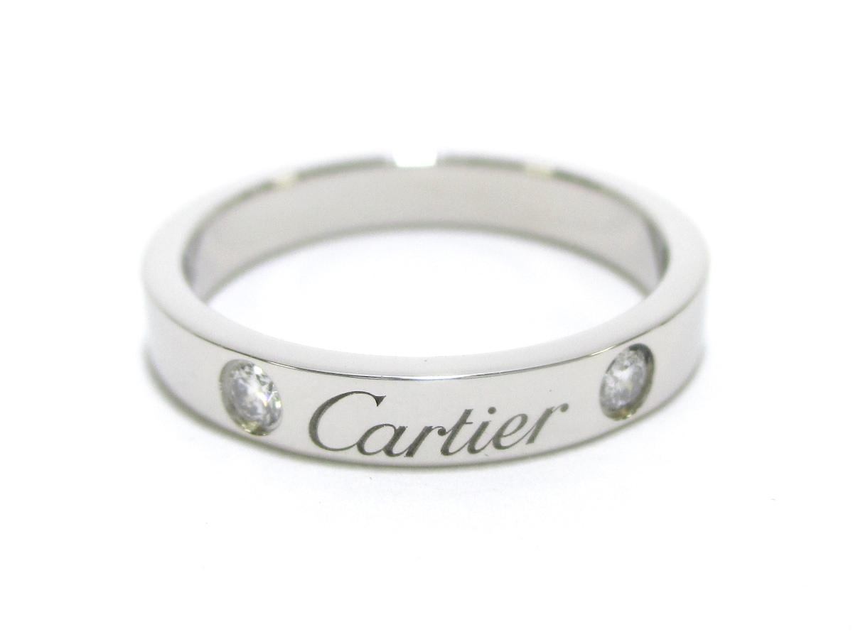 Cartier(カルティエ)のエングレーブドリング