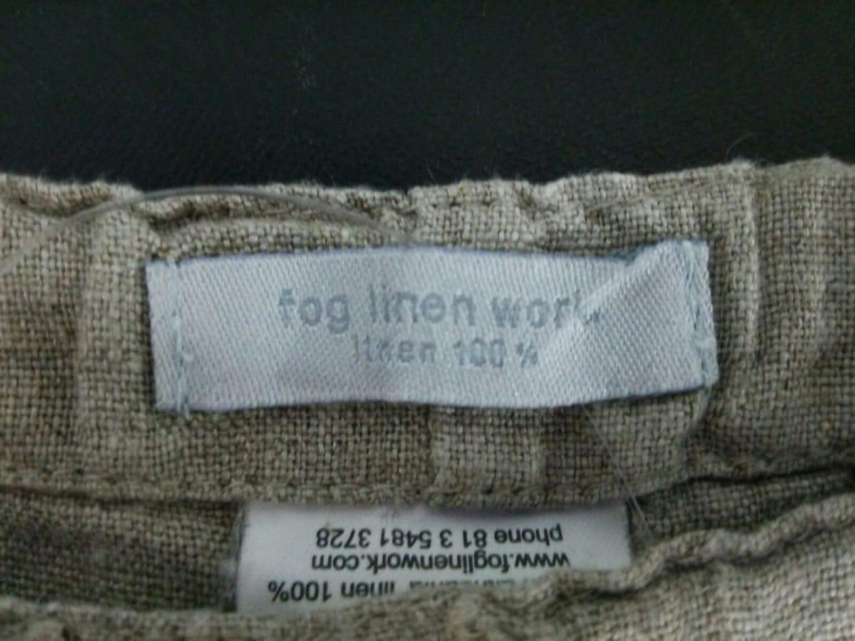 fog linen work(フォグリネンワーク)のパンツ
