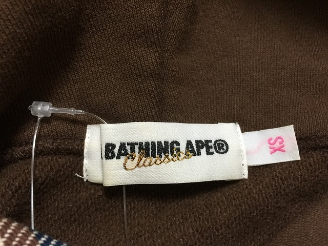 A BATHING APE(ア ベイシング エイプ)のパーカー