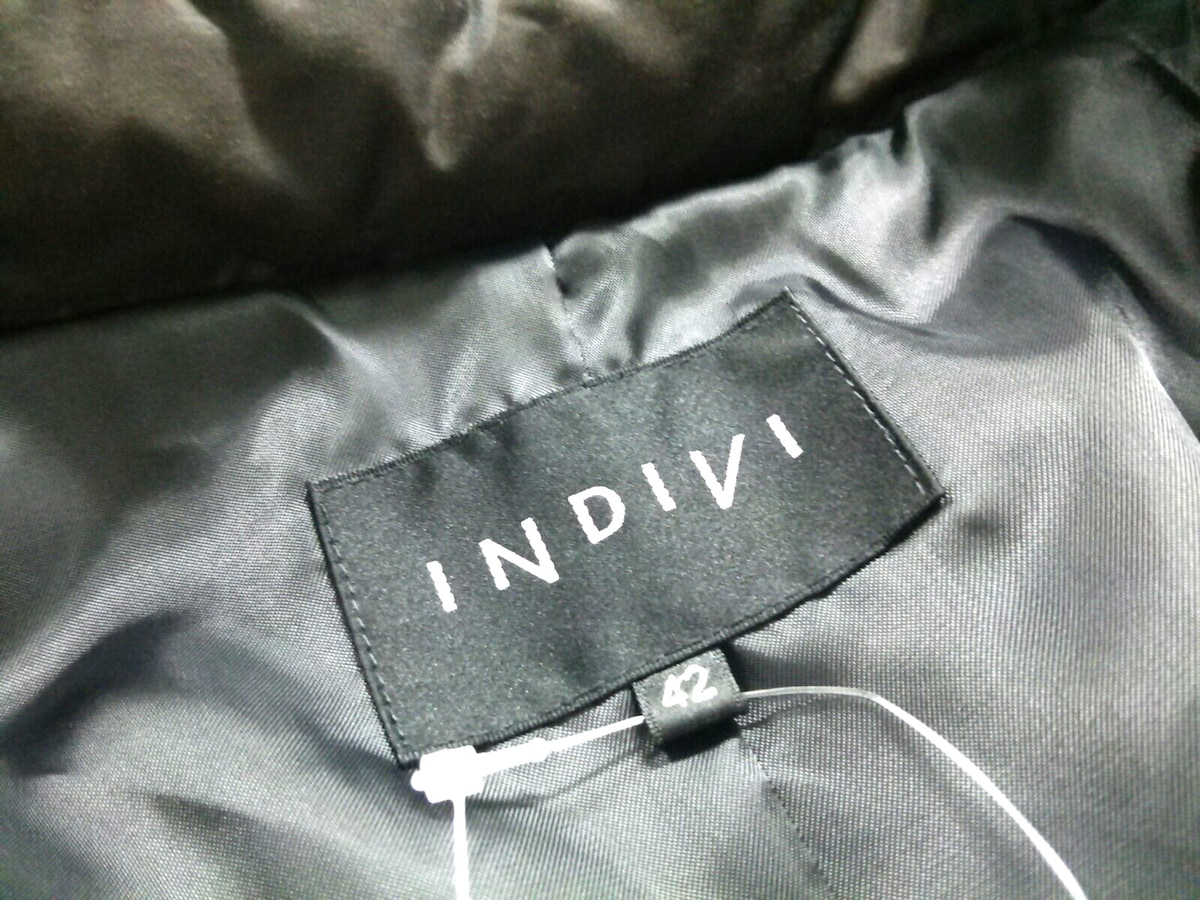 INDIVI(インディビ)のダウンコート