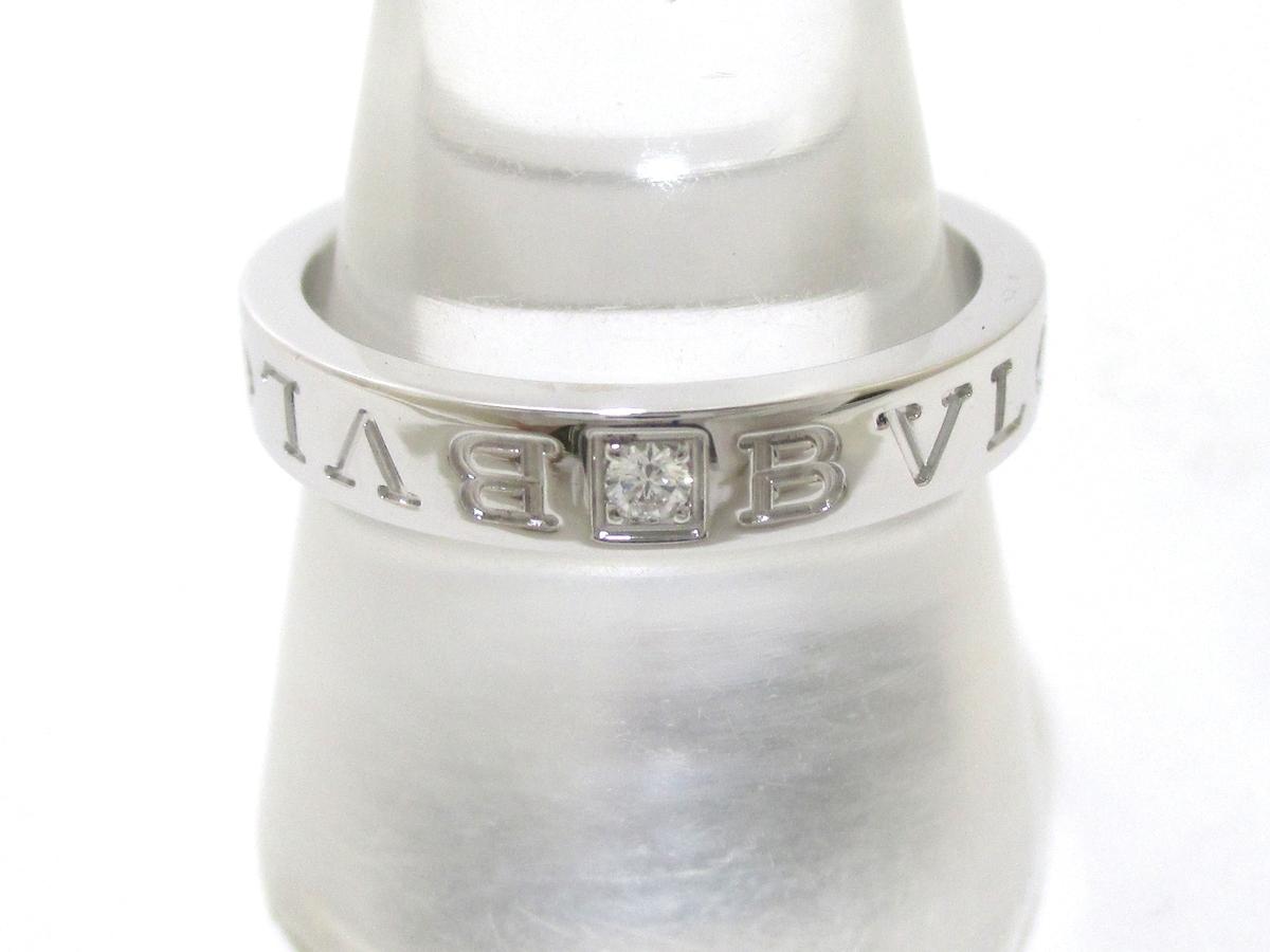 BVLGARI(ブルガリ)のダブルロゴダイヤ