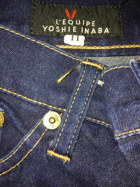 YOSHIE INABA(ヨシエイナバ)のジーンズ