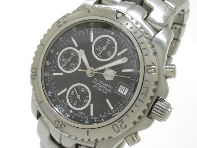 new style a5eb9 21c52 TAG Heuer(タグホイヤー)/リンク クロノグラフ/腕時計/型番 ...