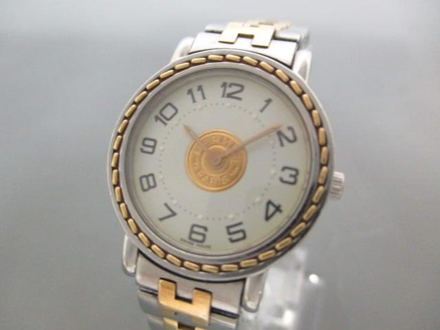 pretty nice a846e 2111b HERMES(エルメス)/セリエ/腕時計/型番SE4.220の買取実績 ...
