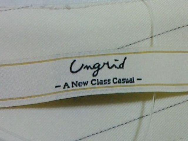 UNGRID(アングリッド)のパンツ