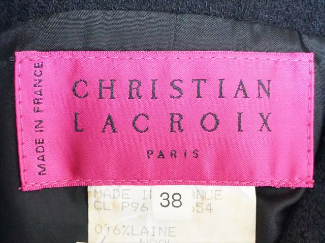 Christian Lacroix(クリスチャンラクロワ)のベスト