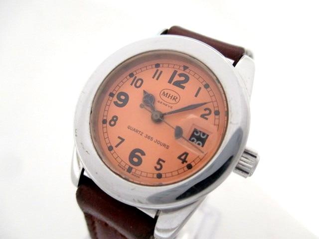 MHR(マハラ)の腕時計