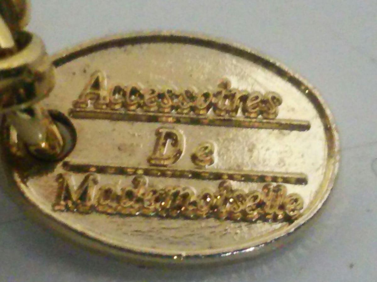 AccessoiresDeMademoiselle(ADMJ)(アクセソワ・ドゥ・マドモワゼル)のキーホルダー(チャーム)