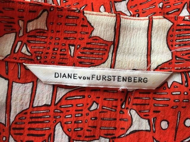 DIANE VON FURSTENBERG(DVF)(ダイアン・フォン・ファステンバーグ)のシャツブラウス