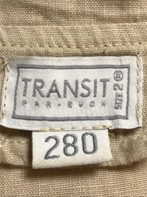 TRANSIT(トランジット)のコート