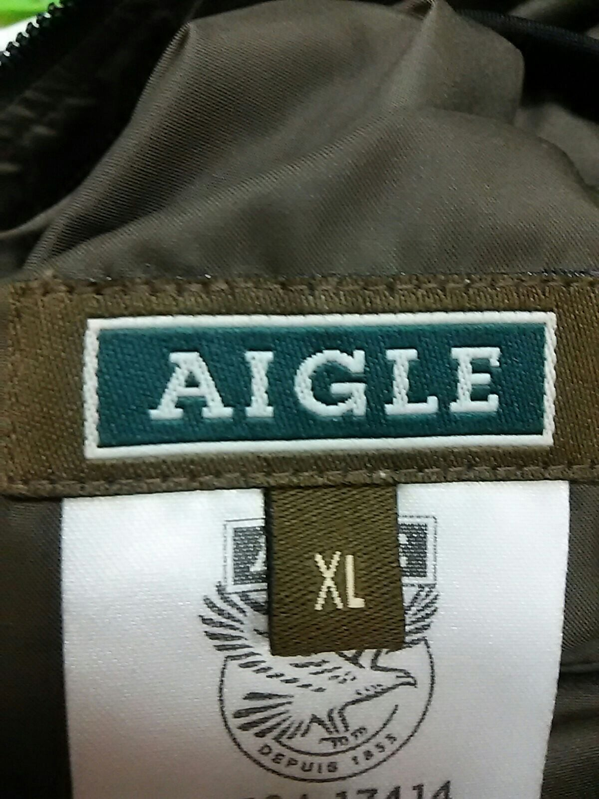 AIGLE(エーグル)のダウンベスト