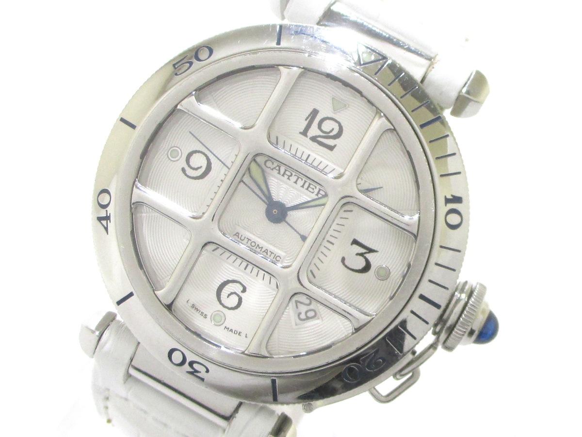 brand new 3f3bf 6744c Cartier(カルティエ)/パシャ グリッド38mm/腕時計/型番W31040H3 ...