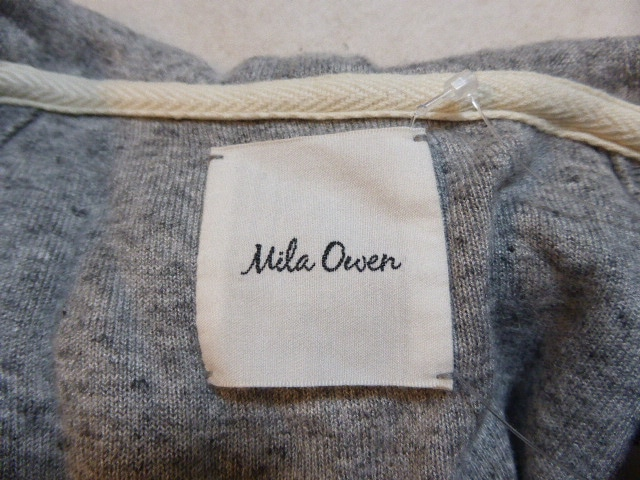 Mila Owen(ミラオーウェン)のパーカー