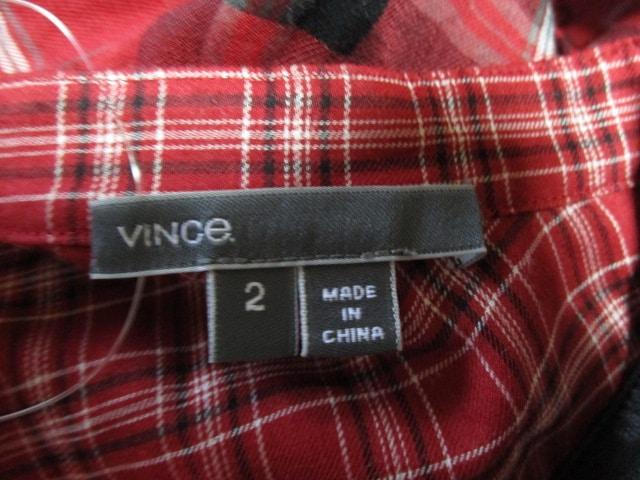 VINCE(ヴィンス)のシャツブラウス