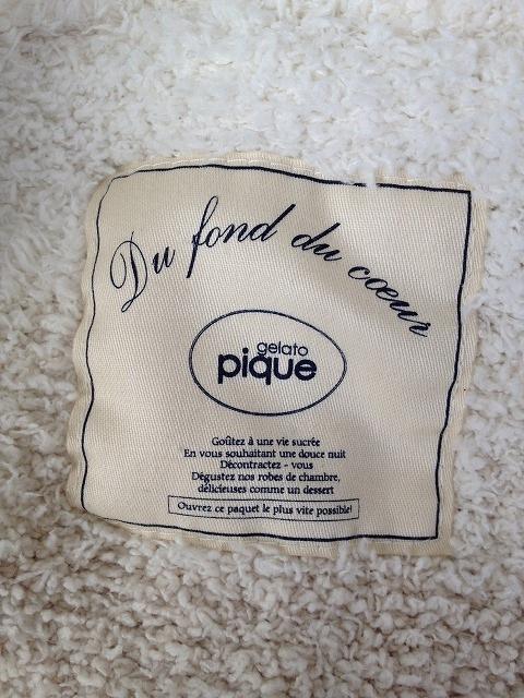 gelato pique(ジェラートピケ)のパーカー