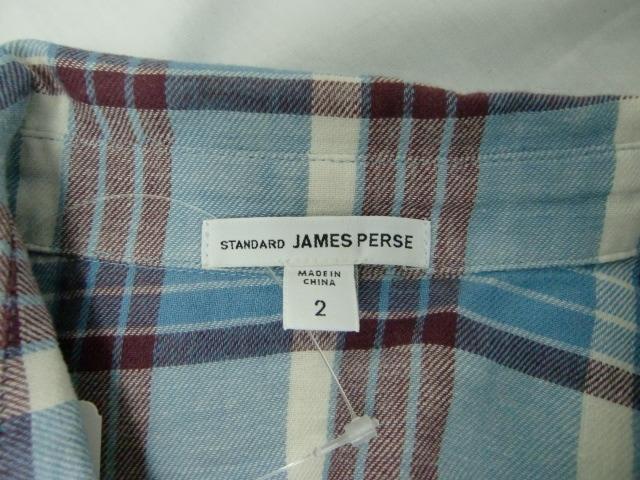 JAMES PERSE(ジェームスパース)のシャツブラウス