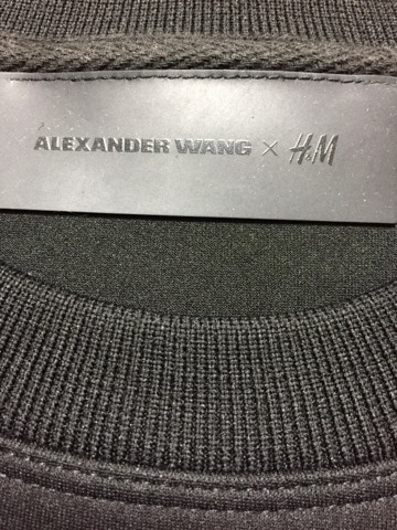 Alexander Wang × H&M(アレキサンダーワン×エイチアンドエム)のカットソー
