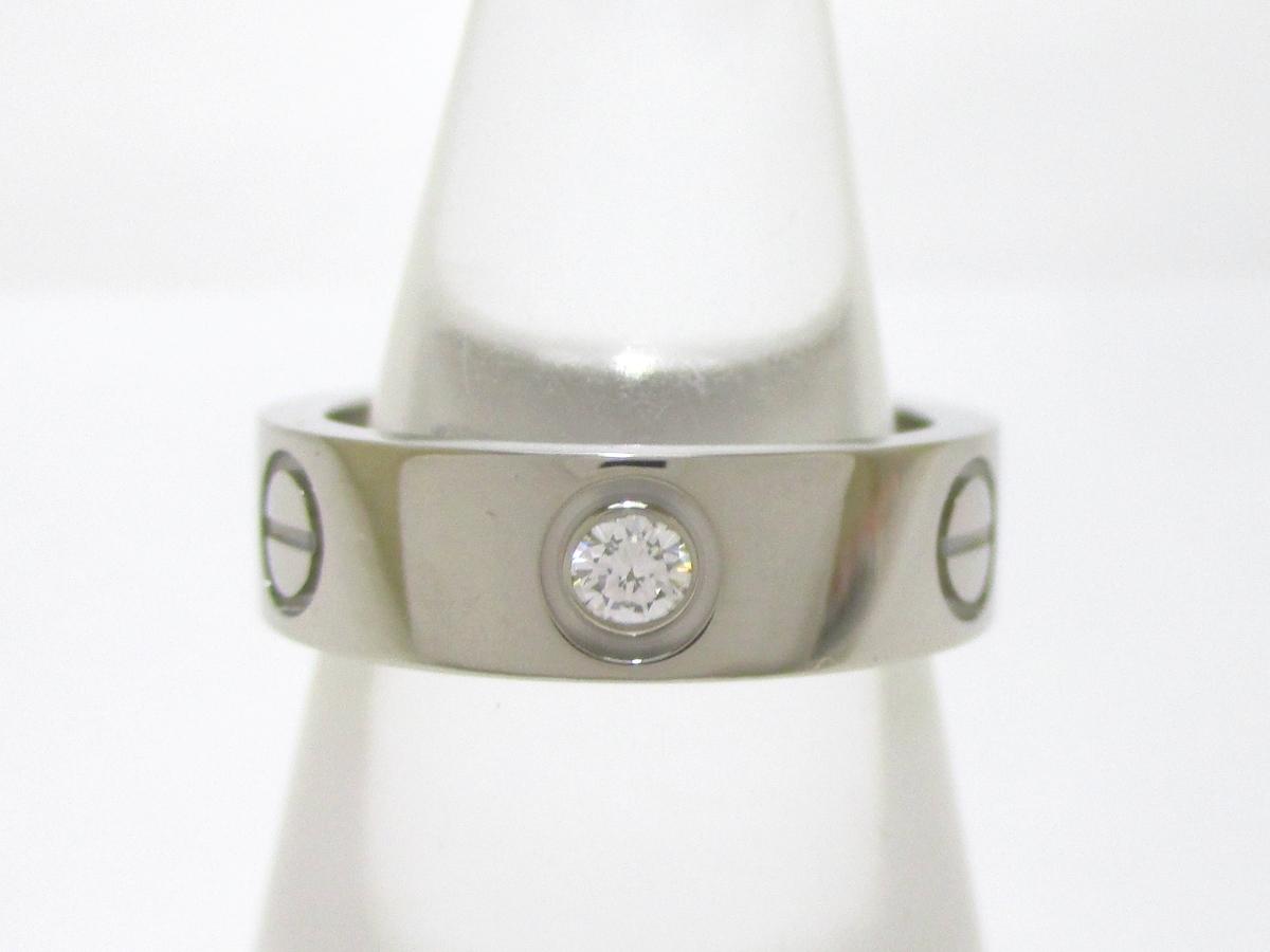 Cartier(カルティエ)のラブリングハーフダイヤ