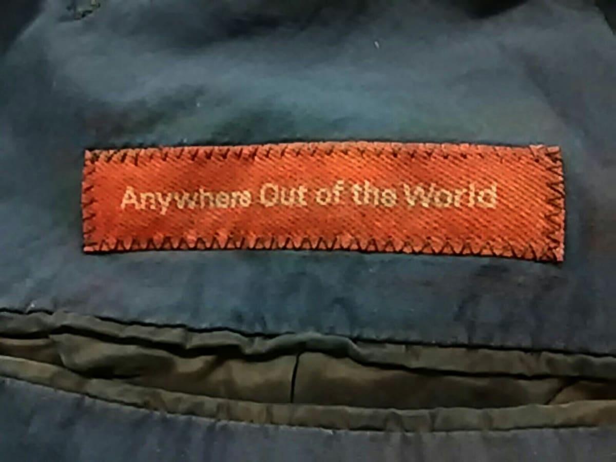 Anywhere Out of The World(エニイウェアアウトオブザワールド)のジャケット