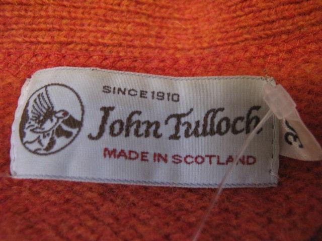 John Tulloch(ジョンタロック)のカーディガン
