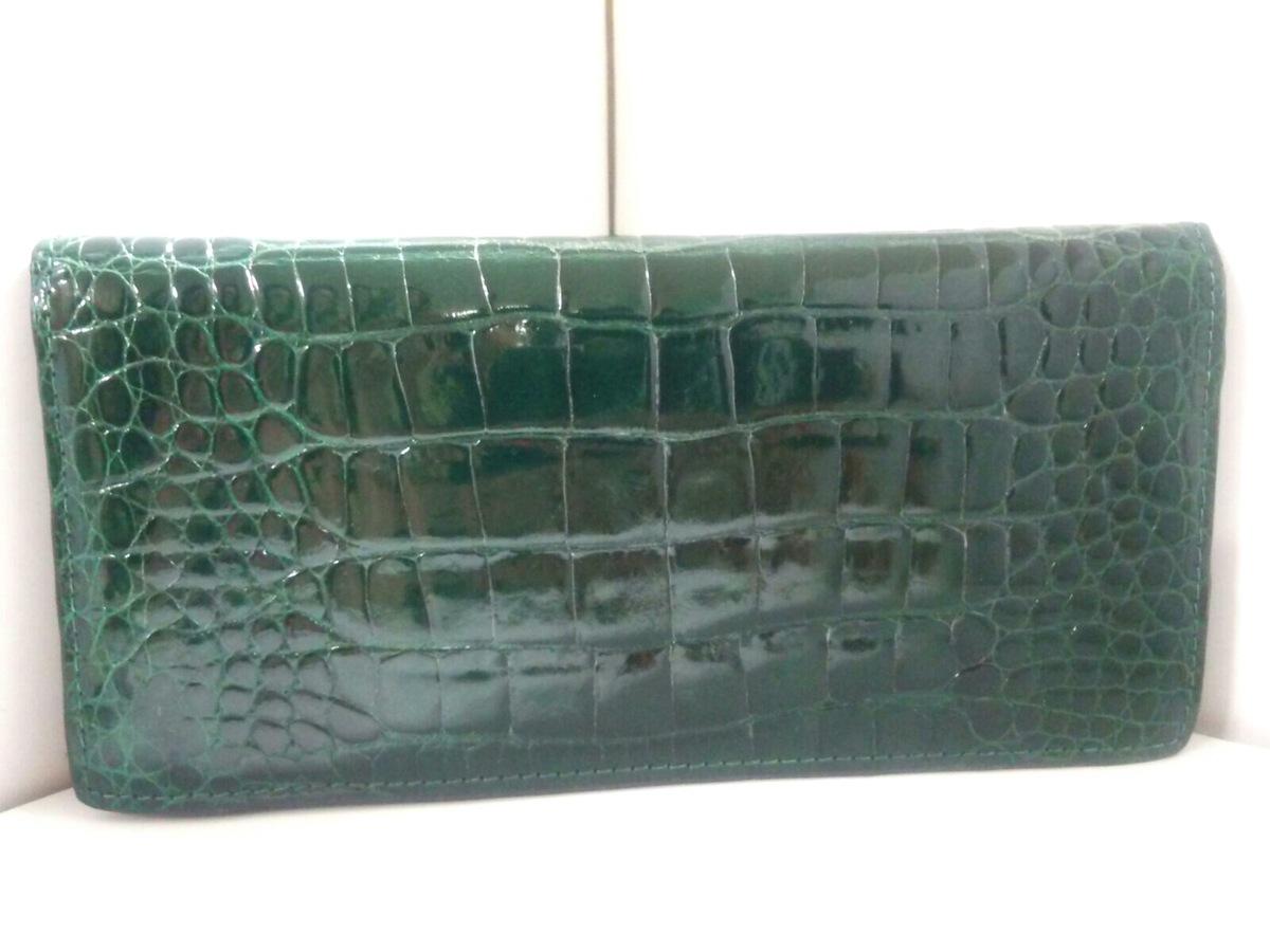 1fe9e9857448 Crocodile Skin(クロコダイルスキン)/長財布の買取実績/23372352 の買取 ...