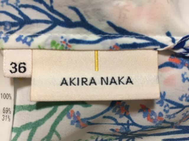AKIRA NAKA(アキラナカ)のシャツブラウス