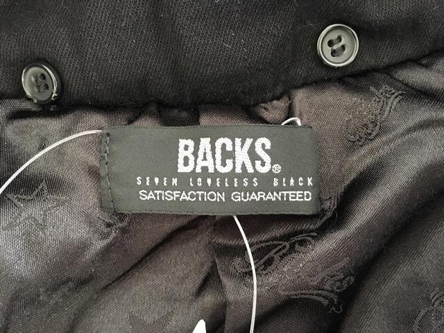 BACKS(バックス)のコート