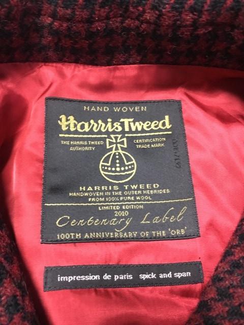 Harris Tweed(ハリスツイード)のポンチョ