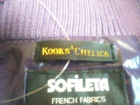 KOOKS&CHELICA(クークスアンドチェリカ)のダウンコート