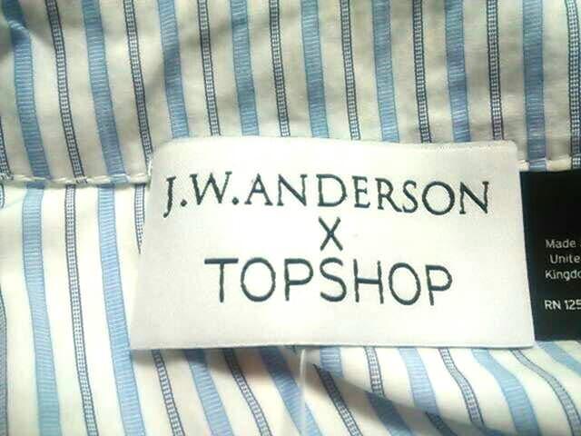 J.W.Anderson(ジェイダブリューアンダーソン)のシャツブラウス