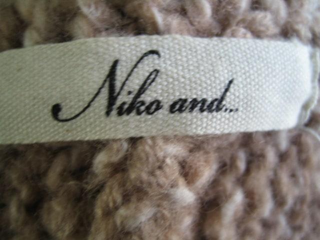 niko and...(ニコアンド)のブルゾン