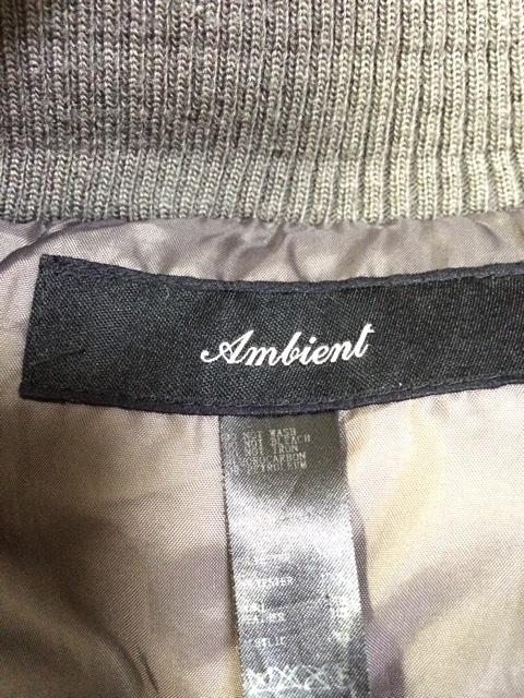 ambient(アンビエント)のダウンジャケット