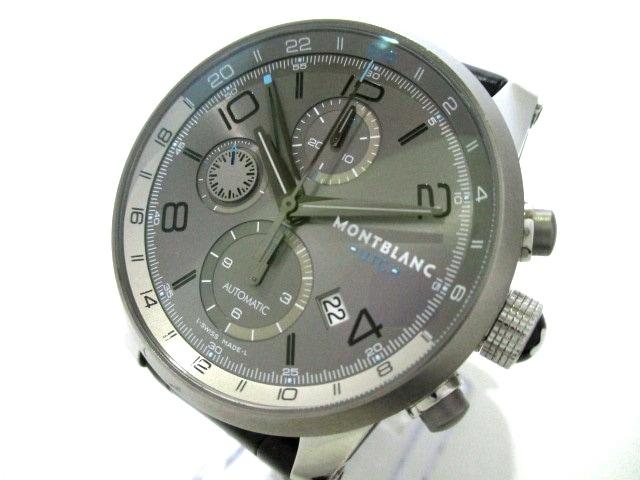 53323a2890 MONTBLANC(モンブラン)/タイムウォーカー クロノボイジャー UTC/腕時計 ...