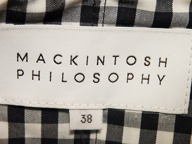 MACKINTOSH PHILOSOPHY(マッキントッシュフィロソフィー)のポンチョ