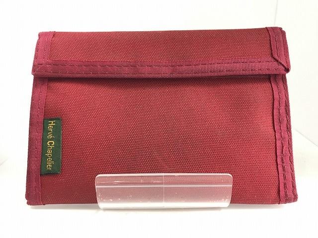 Herve Chapelier(エルベシャプリエ)の3つ折り財布
