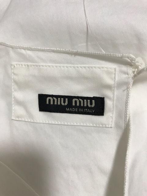 miumiu(ミュウミュウ)のチュニック