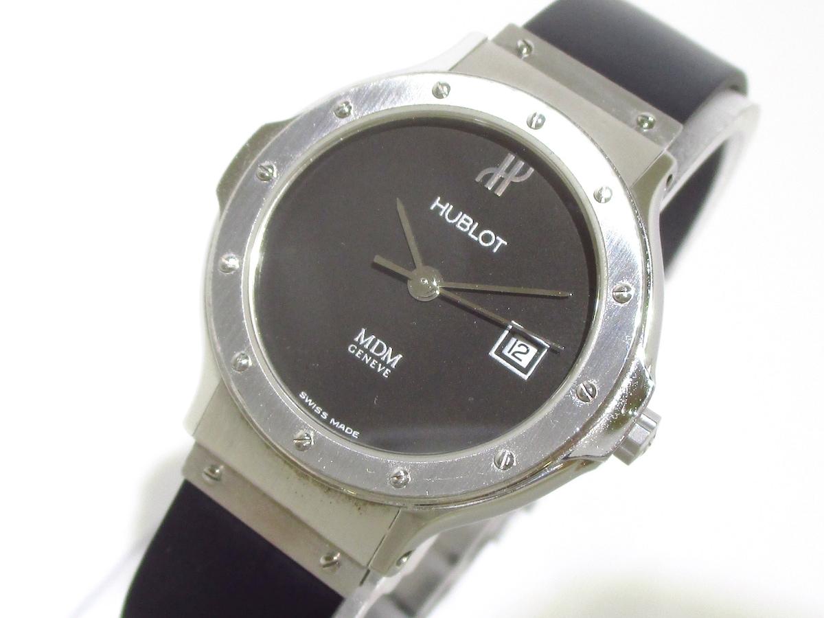 low priced f0278 66e13 HUBLOT(ウブロ)/クラシック MDM/腕時計/型番1391.1の買取実績 ...