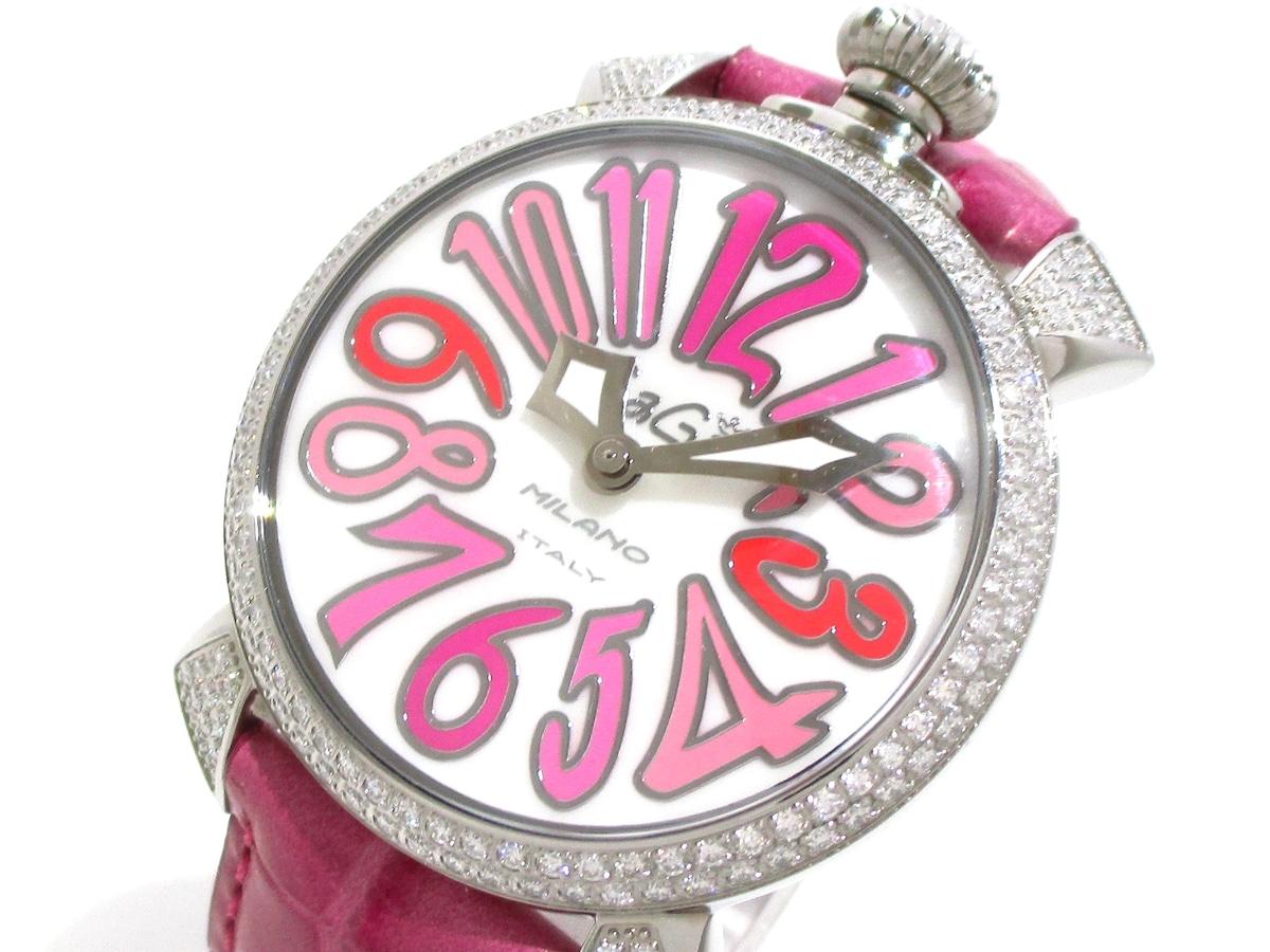 cheap for discount c91a3 7f664 GAGA MILANO(ガガミラノ)/マヌアーレ40/腕時計/型番-の買取実績 ...