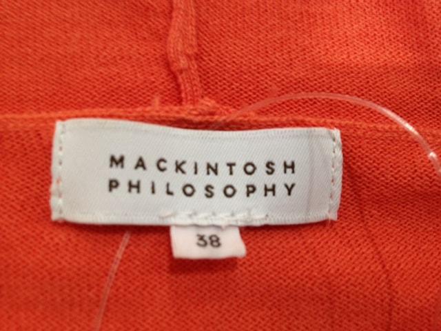 MACKINTOSH PHILOSOPHY(マッキントッシュフィロソフィー)のパーカー