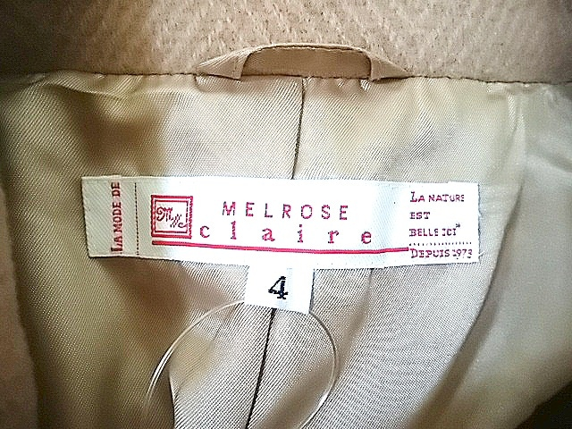 MELROSE claire CL(メルローズクレール)のコート