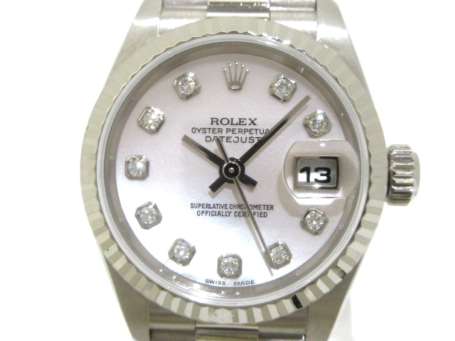 wholesale dealer b672c 88dfc ROLEX(ロレックス) 腕時計 デイトジャスト 79179NG レディース