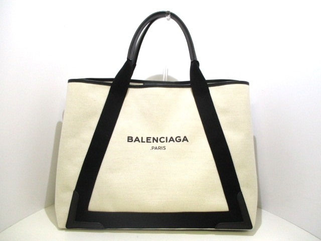 BALENCIAG トートバッグ ネイビーカバM 339936