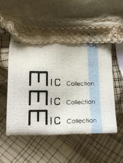mic cllection(ミックコレクション)のシャツブラウス