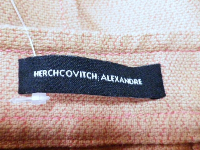 HERCHCOVITCH ALEXANDRE(ヘルコビッチアレキサンドレ)のパンツ