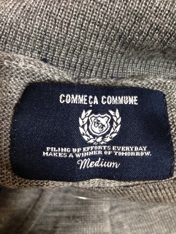 COMME CA COMMUNE(コムサコミューン)のセーター