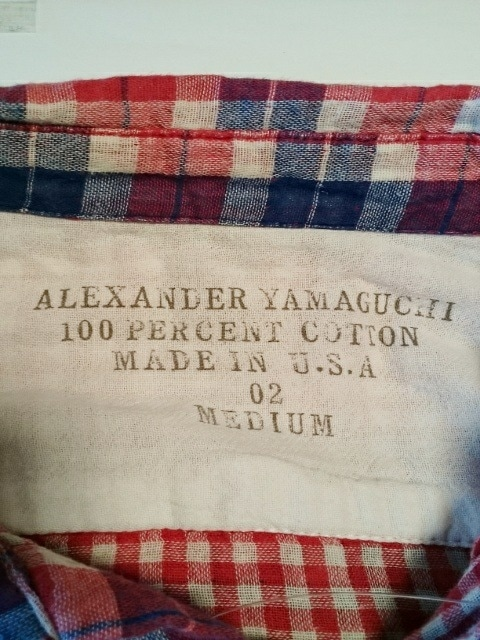Alexander Yamaguchi(アレキサンダーヤマグチ)のシャツ